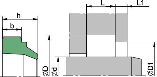Schemat zabudowy A1