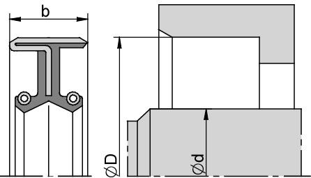 Schemat zabudowy B1DUO