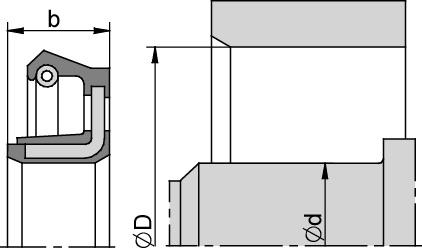 Schemat zabudowy BAX