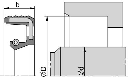 Schemat zabudowy BAX7