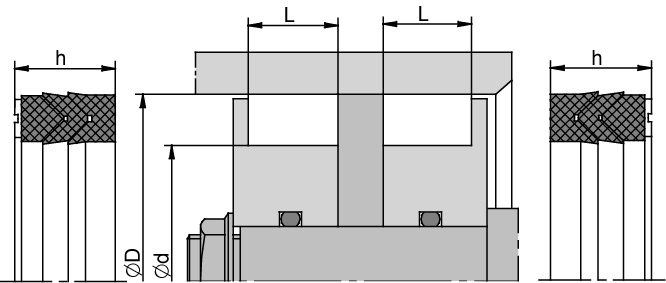 Schemat zabudowy DT1