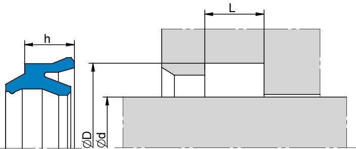 Schemat zabudowy K52