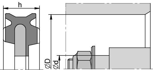 Schemat zabudowy K57