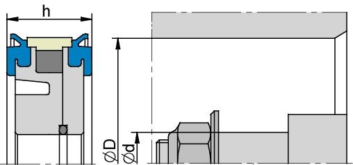 Schemat zabudowy K58