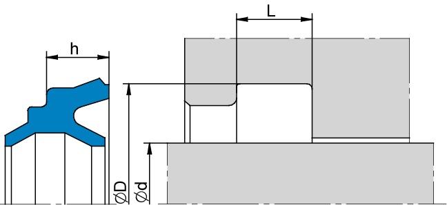 Schemat zabudowy K64