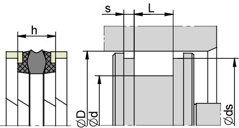 Schemat zabudowy K