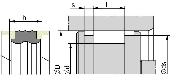 Schemat zabudowy K3
