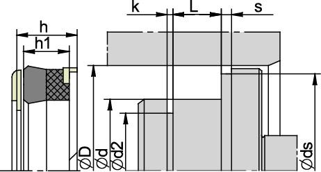 Schemat zabudowy K43
