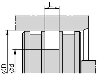 Schemat zabudowy TŁOKA PROSTE