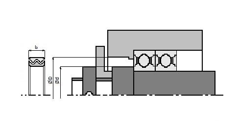 Schemat zabudowy Labirytnowe L