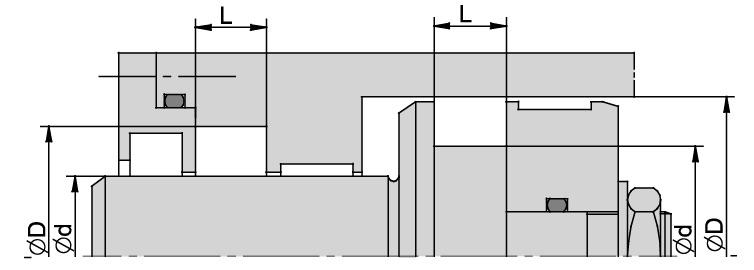 Schemat zabudowy TŁOKA/DŁAWNICY