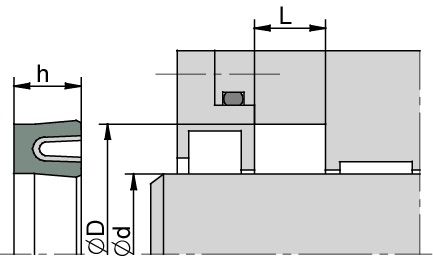 Schemat zabudowy K701