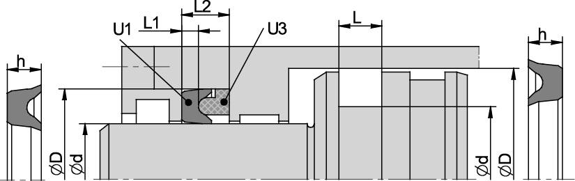 Schemat zabudowy U1