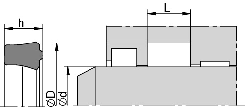 Schemat zabudowy U6